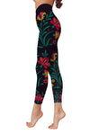 Flower Art 12 Low Rise Leggings ZEUS080112