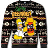 Simpson Beer All Over Print Crewneck Sweatshirt