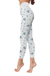 Flower Art 13 Low Rise Leggings ZEUS080113