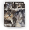 Miniature Schnauzer Couple Bedding ZEUS151218