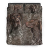 German Shorthaired Pointer Couple Bedding ZEUS161297
