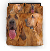 Bloodhound Couple Bedding ZEUS151217
