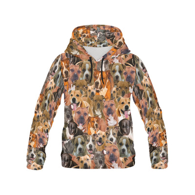 American Staffordshire Terrier All Over Print Hoodie
