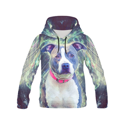 American Pit Bull Terrier Galaxian All Over Print Hoodie ZEUS060111