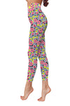 Flower Art 15 Low Rise Leggings ZEUS080115