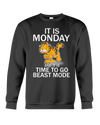 It is monday and it is time to go beast mode