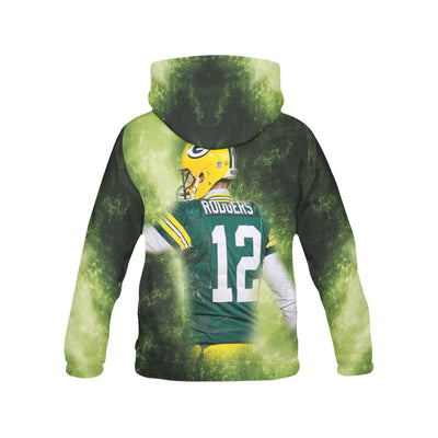 Aaron Rodgers All Over Print Hoodie - PRINTMAZING