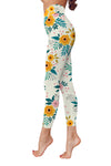 Flower Art 17 Low Rise Leggings ZEUS080117