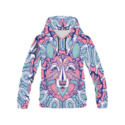 ZENTANGLE GERMAN SHEPHERD 303 All Over Print Hoodie