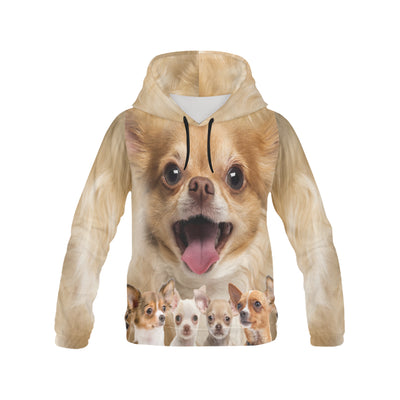 Chihuahua Awesome All Over Print Hoodie