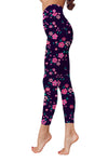 Flower Art 18 Low Rise Leggings ZEUS080118