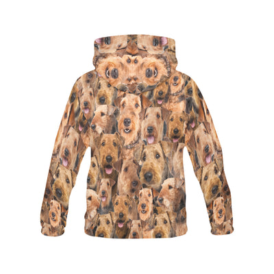 Airedale Terrier All Over Print Hoodie