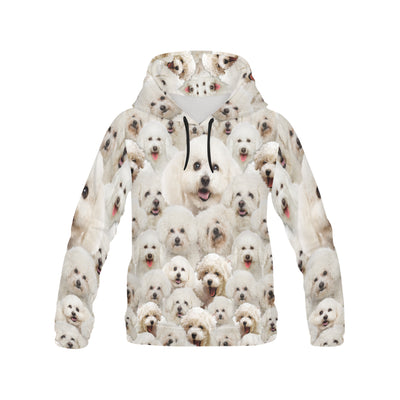 Bichon Frise All Over Print Hoodie