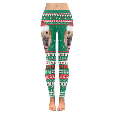 Golden Retriever Low Rise Leggings