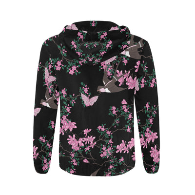 Akita Flower Pattern 3 All Over Print Full Zip Hoodie ZEUS1201