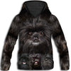 Affenpinscher Awesome All Over Print Hoodie - PRINTMAZING