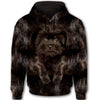 Affenpinscher Face All Over Print Full Zip Hoodie ZEUS030130 - PRINTMAZING