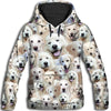 Akbash Dog All Over Print Hoodie