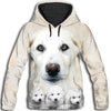 Akbash Dog Awesome All Over Print Hoodie