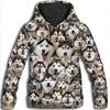 Alaskan Malamute All Over Print Hoodie