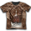 American Pit Bull Terrier Face New All Over Print T-shirt ZEUS1501
