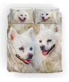 American Eskimo Dog Couple Bedding ZEUS181214