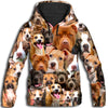 American Pit Bull Terrier All Over Print Hoodie