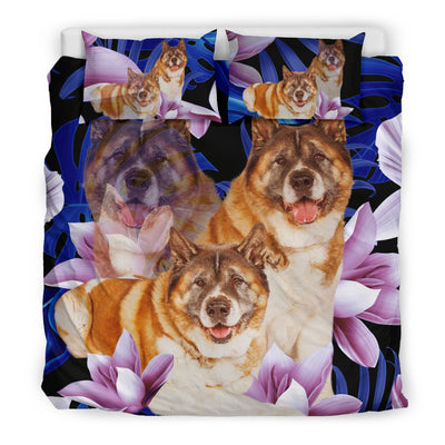 Akita Flower Pattern Bedding 3 ZEUS1901