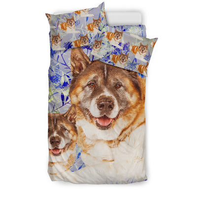Akita Flower Pattern Bedding 4 ZEUS1901