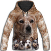 Australian Cattle Dog Awesome All Over Print Hoodie