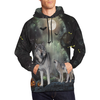 Wolf Family Halloween All Over Print Hoodie