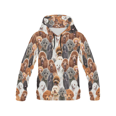 Poodle All Over Print Hoodie