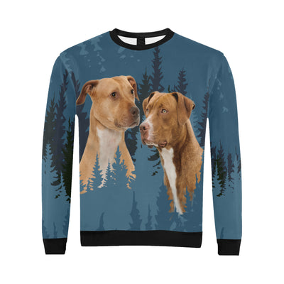 American Pit Bull Terrier Cool All Over Print Crewneck Sweatshirt GAEA191258
