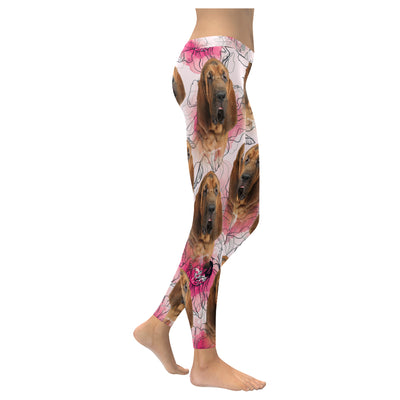 Bloodhound Pattern Low Rise Legging 130315