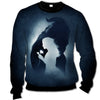 DISNEY - Beauty and The Beast All Over Print Crewneck Sweatshirt - PHOEBE030109