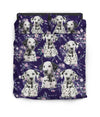 Dalmatian Flower Pattern Bedding 3 ZEUS1601