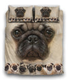 Pug Awesome Bedding ZEUS121277