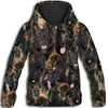 Belgian Shepherd All Over Print Hoodie