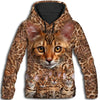 Bengal Awesome All Over Print Hoodie