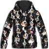 Bernese Mountain Dog All Over Print Hoodie