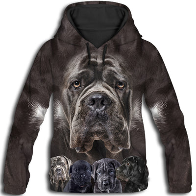 Cane Corso Awesome All Over Print Hoodie