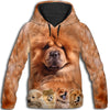 Chow Chow Awesome All Over Print Hoodie