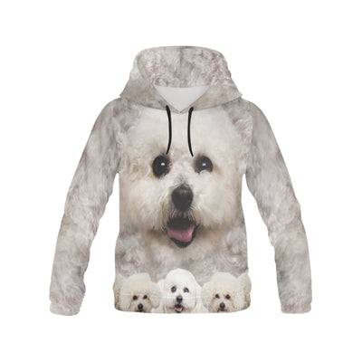 Bichon Frise Awesome All Over Print Hoodie