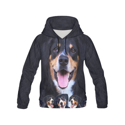 Australian Kelpie Awesome All Over Print Hoodie
