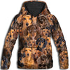 Dachshund All Over Print Hoodie