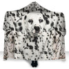 Dalmatian Face Hooded Blanket ZEUS2901