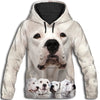 Dogo Argentino Awesome All Over Print Hoodie
