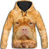 Dogue de Bordeaux Awesome All Over Print Hoodie