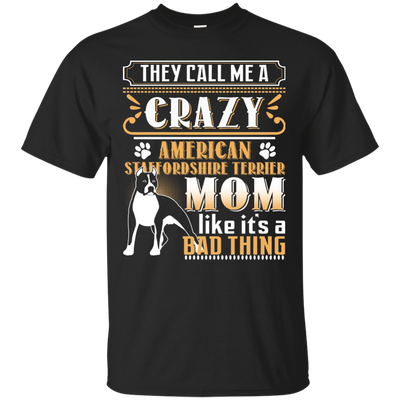 American Staffordshire Terrier Crazy Mom
