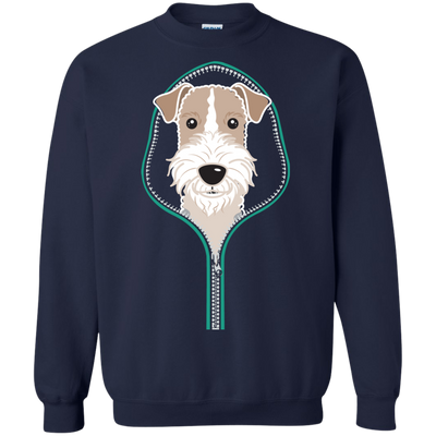 Wire Fox Terrier Zipper